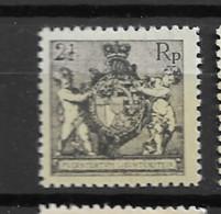 1921 MNH Liechtenstein Mi 46-B Postfris** - Ungebraucht