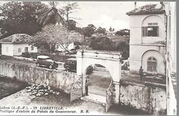 CPA-1910-GABON-LIBREVILLE-Portique D Entrée Du Palais Du Gouverneur-Edit Bloc Freres-Bordeaux-TBE - Gabon