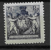 1921 MNH Liechtenstein Mi 49-B Postfris** - Ungebraucht