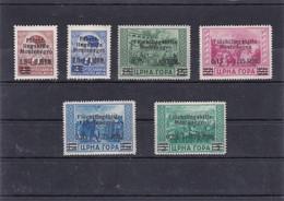 Deutsche Besetzungsausgaben  1939/45 Montenegro - Besetzungen 1938-45