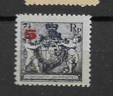 1924 MNH Liechtenstein Mi 61B Postfris** - Ungebraucht