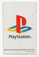 TELECARTE JAPON JEUX PLAYSTATION - Giochi