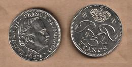 MONACO 5 Francs  1971• 19.1 G • ⌀ 35.5 Mm KM# 42, Schön# 42 - 1960-2001 New Francs