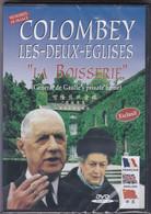 """DVD ; Colombey Les Deux Eglises """"La Boisserie"""" Général De Gaulle (présenté Par Michel Tissier) - History"""