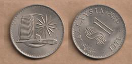 MALASIA   1 Ringgit  1971 Copper-nickel • 17.0 G • ⌀ 33.9 Mm KM# 9, Schön# 53 - Malaysia