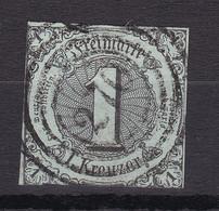 Thurn Und Taxis - 1852/58 - Michel Nr. 7 N4 270 COBURG - Gestempelt - 40 Euro - Thurn Und Taxis