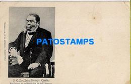 157685 URUGUAY POLITICA PRESIDENTE DON JUAN LINDOLFO CUESTAS SPOTTED POSTAL POSTCARD - Uruguay