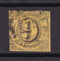 Thurn Und Taxis - 1852/58 - Michel Nr. 10 K2 - Gestempelt - 30 Euro - Thurn Und Taxis