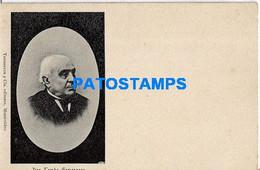 157687 URUGUAY PRESIDENTE DON TOMAS GOMENSORO & POLITICO SPOTTED POSTAL POSTCARD - Uruguay