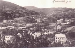 Seltene ALTE  AK  HINTERBRÜHL / NÖ / Ö  - Teilansicht  - 1912 Gelaufen - Other