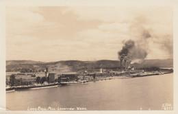 Longview Washington, Long Bell Mill, Lumber Industry, C1940s Vintage Ellis #6717 Real Photo Postcard - Otros