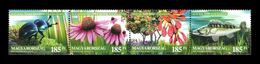 Hungary 2020 Mih. 6144/47 Flora And Fauna. Our Natural Assets. Dor Beetle. Сoneflower. Tatar Maple. Fish Zander MNH ** - Ongebruikt