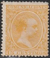 1889. * Edifil: 229. ALFONSO XIII-PELON. S.O. - Neufs
