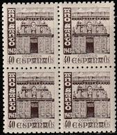 1943. ** Edifil: 968(4). AÑO SANTO COMPOSTELANO - 1931-50 Neufs