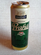 "KAZAKHSTAN.  BEER CAN   ""PRAHA"" BALTIKA.. ..450ml. - Cans"