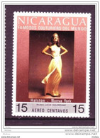Nicaragua, Textile, Haute Couture, Mannequin, Femme, Woman - Textile