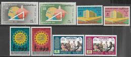 Kuwait 1969    Sc#439-42 MNH & 448-51 MLH     2016 Scott Value $5.95 - Kuwait