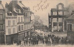 U15-02) SAINT QUENTIN (AISNE) INCENDIE DES ETABLISSEMENTS SERET FRERES   - ( ANIMATION  - 2 SCANS ) - Saint Quentin