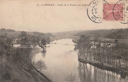 V17-87) LIMOGES - VALLEE DE LA VIENNE VERS LE PALAIS - Limoges