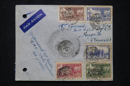 A.O.F. - Enveloppe De Bobo Dioulasso En Fm Par Avion Pour La Tunisie En 1942 - L 95214 - Covers & Documents