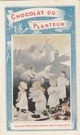 Petit Calendrier  1899. Chocolat Du Planteur. Thé De La Coloniale - Formato Piccolo : ...-1900
