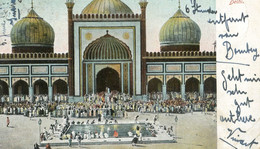 Inde - Juma Masjid Mahomedans At Prayer Delhi - India