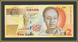 Ghana 2 Cedi 2013 P-37 (37Аb) UNC - Ghana