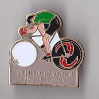 PIN'S THEME SPORTS / CYCLISME TOUR DE FRANCE  15 JUILLET 1991  SAINT BRIEUC DE MAURON    MORBIHAN - Cycling