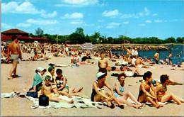 Connecticut Stamford Bathing Beach At Cummings Park - Stamford