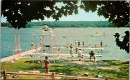 Connecticut Salem Gardner Lake General Swimm At Camp Wakenah - Other