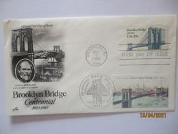 Brücken Brooklyn Bridge Sonderbrief 1983/2006 (7742) - Other