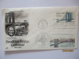 Brücken Brooklyn Bridge Sonderbrief 1983/2006 (7742) - Otros