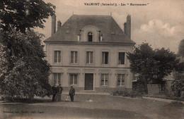 Valmont (Seine-Inférieure) Villa Les Marronniers - Edition Graindor - Carte Animée (personnages Dans Le Parc) - Valmont