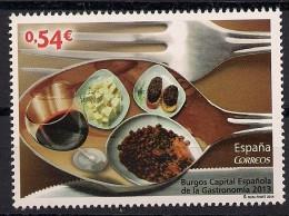 2014 Spanien Mi. 4851**MNH Burgos - Spanische Gastronomiehauptstadt - 2011-... Nuovi & Linguelle
