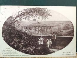 22  Saint Brieuc, Viaduc De Toupin, Vue Prise Du Collège De Jeunes Filles En 1928 - Saint-Brieuc