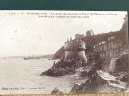 22  Saint Brieuc ,la Tour Du Guet De La Plage De L'anse à La Vierge En 1928 - Saint-Brieuc