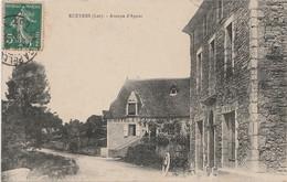 D13-46) RUEYRES (LOT)  AVENUE D'AYNAC  - (HOTEL ET CAFE THOMAS) - Andere Gemeenten