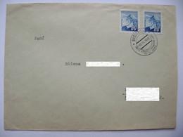 Commemorative Postmark BUSTEHRAD 10.VI.1945 Treti Vyroci Vyhlazeni Lidic/Third Anniversary Of The Destruction Of Lidice - Covers & Documents
