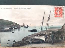 22, Saint Brieuc , L'entrée Du Port Du Légué En 1914 - Saint-Brieuc