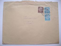 Brief Deutches Reich Sudetenland 13.12.1938 Karlsbad (Viktor Prack Dallwitz-Hohendorf) Nach Prag, Hindenburg 10,20,20 Pf - Sudeti