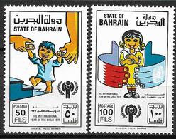 1979  Bahrain Mi. 282-3**MNH  INTERNATIONAL YEAR OF THE CHILD - Bahrein (1965-...)