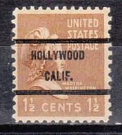 Locals USA Precancel Vorausentwertung Preo, Bureau California, Hollywood 805-71 - Precancels
