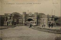 Antwerpen - Anvers / / Boomsche Poort - Porte De Boom (Fraaie Tram) 19?? - Antwerpen