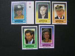 ANGUILLA 1994 Set No 840-844 Royal Visits  MNH.. - Anguilla (1968-...)