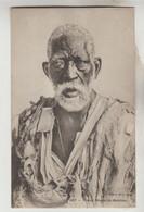 CPA MALI EX SOUDAN FRANCAIS ETHNOGRAPHIE - Vieux Nègre Du Soudan, Cachet Télégraphie Militaire - Mali