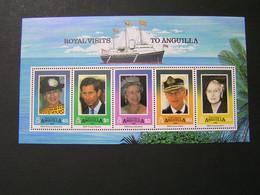ANGUILLA 1994 Blok No 100  Royal Visits  MNH.. - Anguilla (1968-...)
