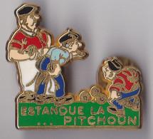 PIN'S  THEME SPORT PETANQUE  MARSEILLE LA PITCHOUN  ESTANQUE  SIGNE BALLARD - Bowls - Pétanque
