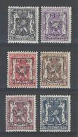 Nr PRE422-27 * - Typo Precancels 1936-51 (Small Seal Of The State)