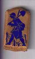Insigne 618ème Régiment De Pionniers - Ligne Maginot  - Drago Béranger Déposé - Epingle Cassée - France