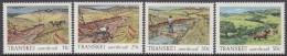 TRANSKEI, 1985 SOIL CONSERVATION 4 MNH - Transkei